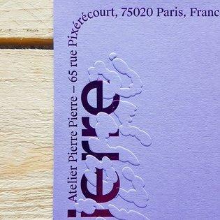 Identity designed by @pierrepierre.pdf