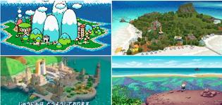 Video game islands