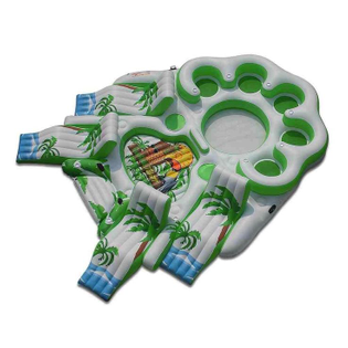 from Google search of 'inflatable island'