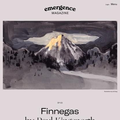 Finnegas - Emergence Magazine