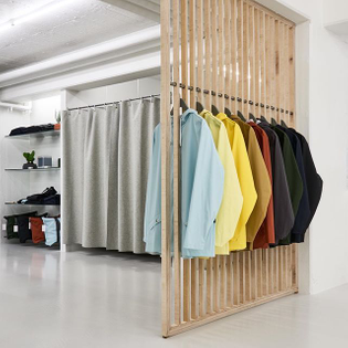 RAINS Store carries the full line of waterproof outerwear, bags and accessories along with few external lifestyle brands. #rains #store #rainsstore #conceptstore #firstofitskind #aarhus