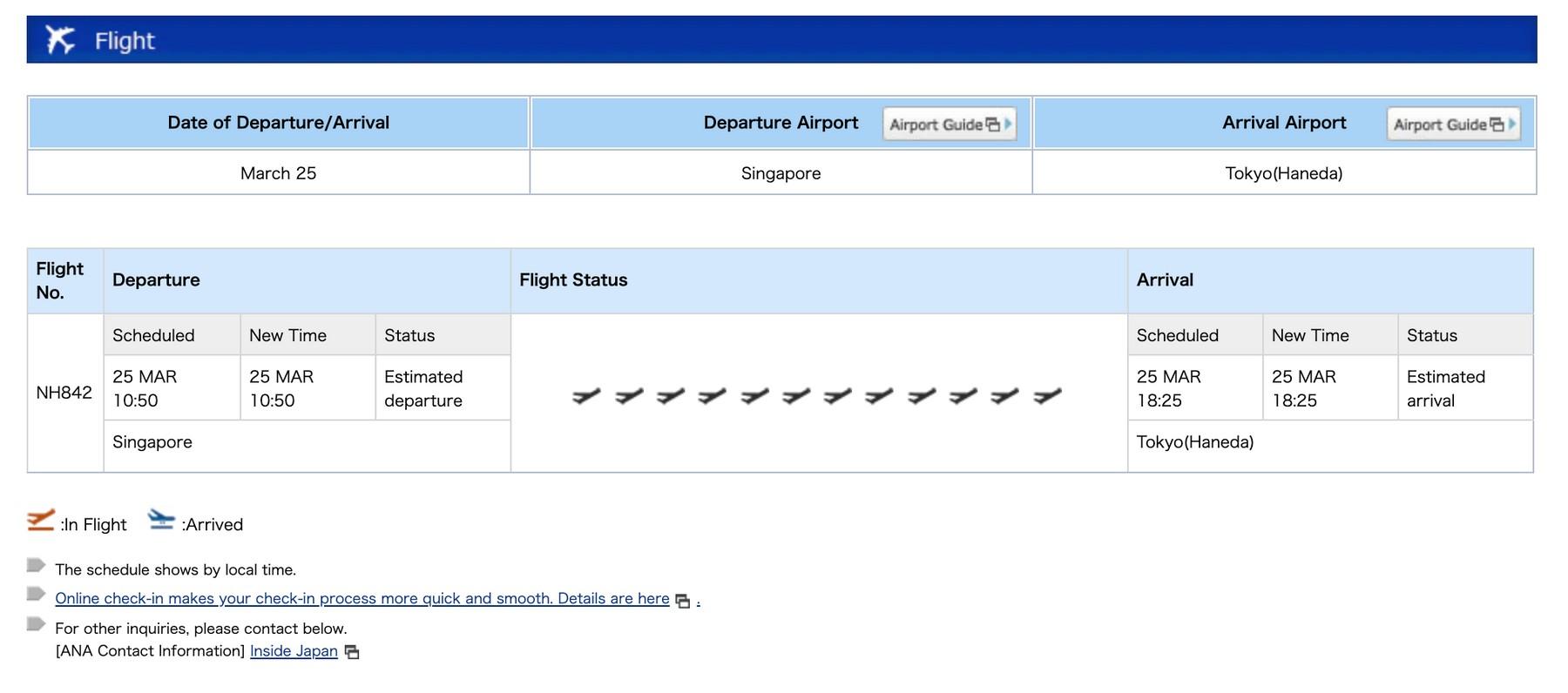 """flight status """"bar"""""""