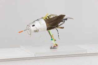 Bernadette Corporation, Gull Sculpture, 2017