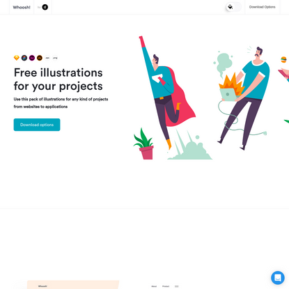Whoosh - Illustration Kit