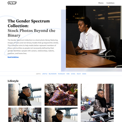 The Gender Spectrum Collection by Broadly