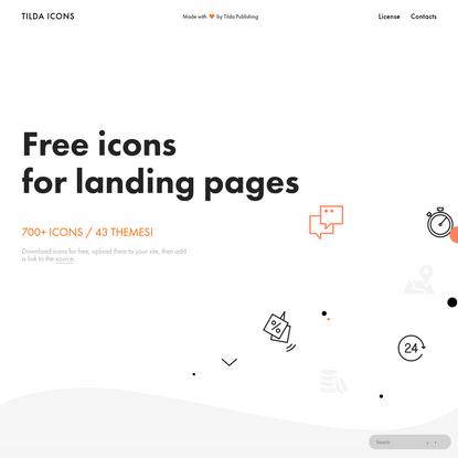 Free Icons - Tilda Publishing