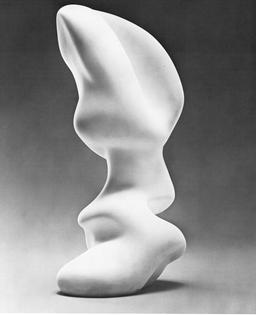 Jean Arp, German,  1887-1966, Pistil, 1950;  plaster, h. 87.9 cm (34%  in.)- Gift of Madame Jean  Arp (74.126).