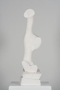 Hans Arp, Daphne (1955; plaster, 122.4 x 39 x 30 cm; Berlin / Rolandswerth, Stiftung Arp eV)