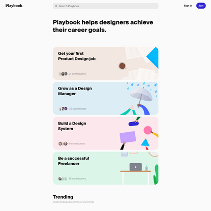 Playbook - Achieve your career goals