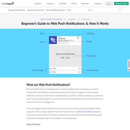 What Are Web Push Notifications? [A Beginner's Guide]