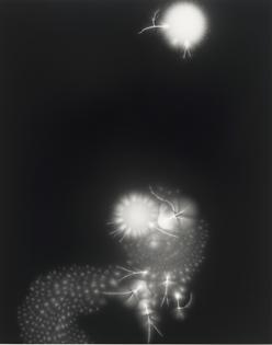 Hiroshi Sugimoto, Lightning Fields 138 (2009)