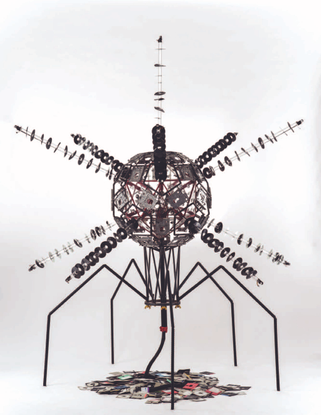 """McCluer, Forrest. """"Computer Virus Sculptures and the Science That Inspired Them,"""" Leonardo 47, No. 3, 206–212 (2014)."""