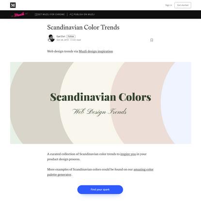 Scandinavian Color Trends