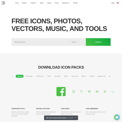 Download free icons, music, stock photos, vectors