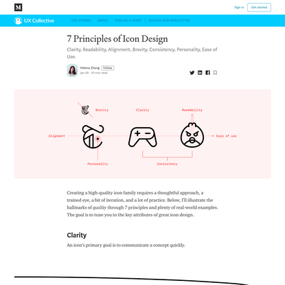 7 Principles of Icon Design
