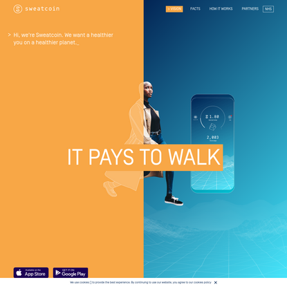 Sweatcoin | It pays to walk