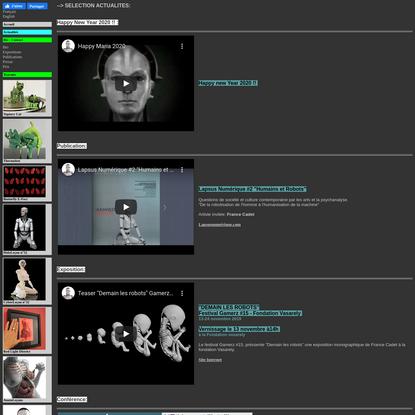 Site de l'artiste France Cadet