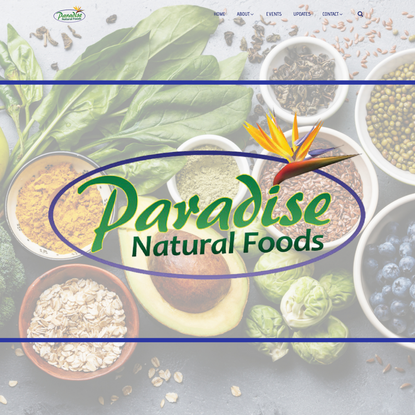 Home   Paradise Natural Foods