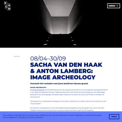 Installatie Image Archeology - RAUM Utrecht - Kunst, design & technologie