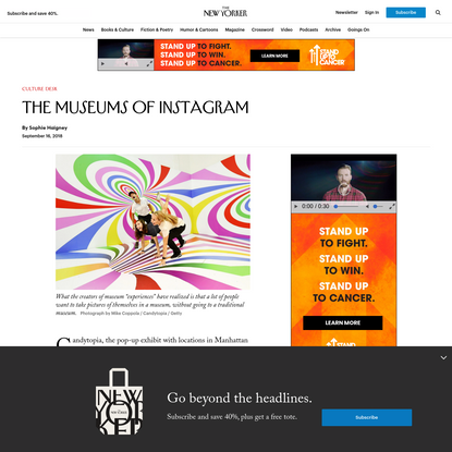 The Museums of Instagram