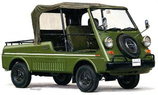 Honda Vamos 1970