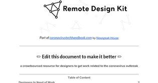 Remote Design Kit