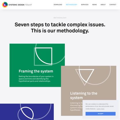 Systemic Design Toolkit - Methodology