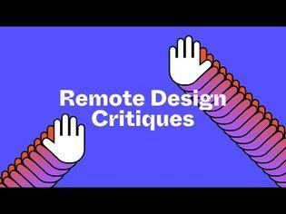 Remote Design Critiques