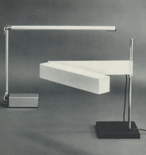 Desk Lamp, 1962. Desk Lamp, 1951.