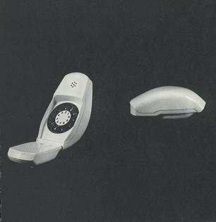 Folding Telephone, 1968.
