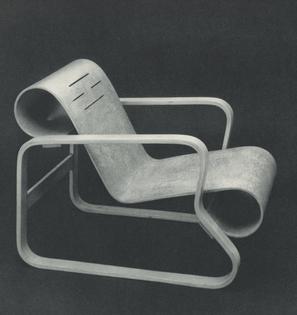 Lounge Chair, ca. 1934.
