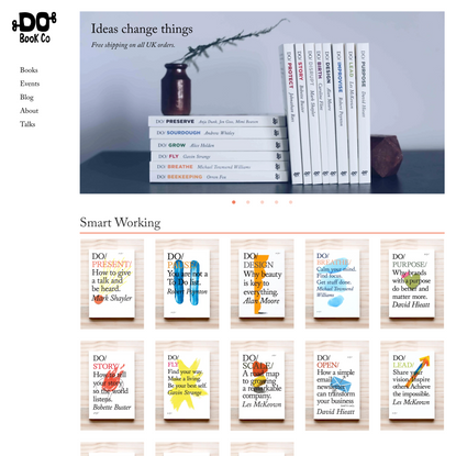 The Do Book Co. / Inspirational Pocket Guides for Doers