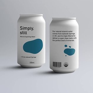 Visual Identity & Brand Packaging Design For 'SIMPLY STILL' | 👉🏻 Have a QUESTION? 📩 DM us! - Follow @thebrandingcollective f...