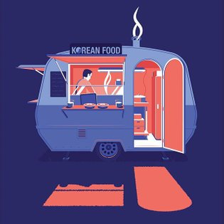 I recently met a Dutch Korean who owns this super cute foodtruck, often attending on dutch festivals. If you're craving some...