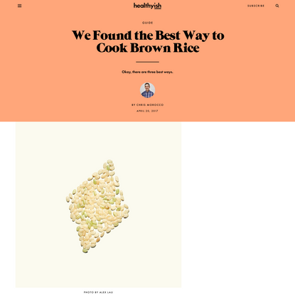 We Found the Best Way to Cook Brown Rice