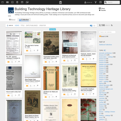 Building Technology Heritage Library : Free Texts : Download & Streaming : Internet Archive