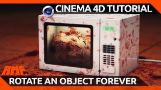 Cinema 4D Quick Tip - Rotate an Object Forever