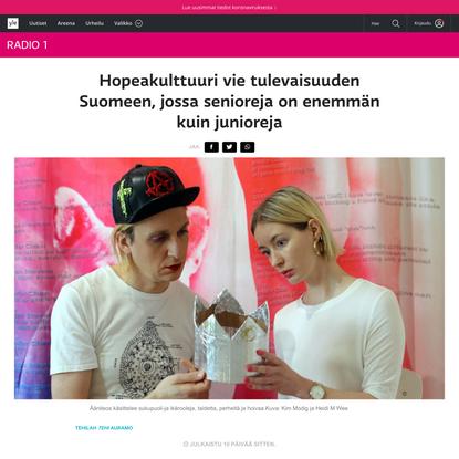 Hopeakulttuuri vie tulevaisuuden Suomeen, jossa senioreja on enemmän kuin junioreja