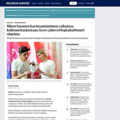 Radioarvostelu | Miten Suomen harmaantuminen vaikuttaa kulttuuritarjontaan, kysyy pätevä Hopeakulttuuri-ohjelma