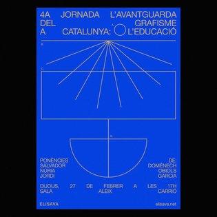 L'Avantguarda del Grafisme a Catalunya: l'educació - Design for @elisavabcn @f_ribot . . #postereposter #posterdesign #type ...