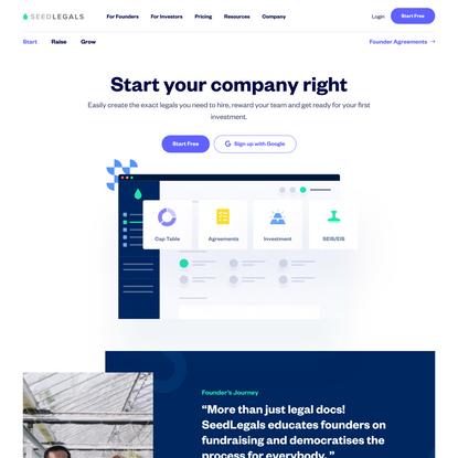 SeedLegals — Start