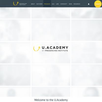 U.Academy – Presencing Institute