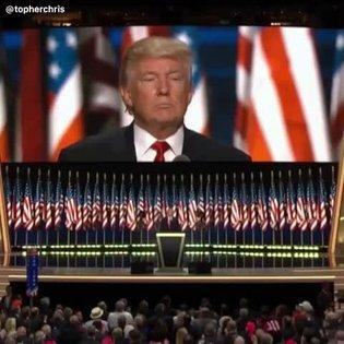 Donald Trump's emotional tribute to Harambe