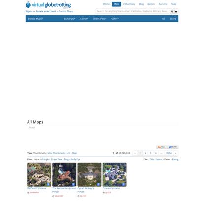 Satellite Maps - Google, Bing, Street View & Birds Eye Maps