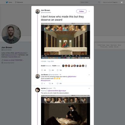 Jon Brown on Twitter