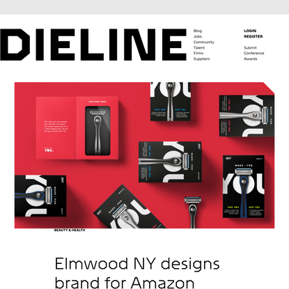 Elmwood NY designs brand for Amazon Exclusive: Made for YOU by BIC