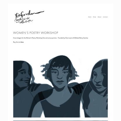 Women's Poetry Workshop — Xia Gordon