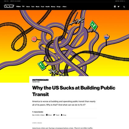 Why the US Sucks at Building Public Transit