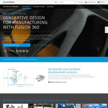 Generative Design for Manufacturing With Fusion 360 | Autodesk