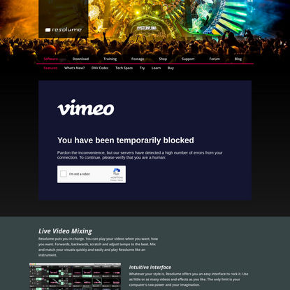 Features - Resolume VJ Software